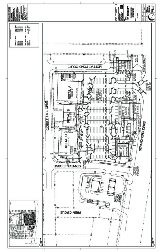 CONCEPTUAL RETAIL PLAZA AND GAS STATION SITEPLAN DOCUMENT 3