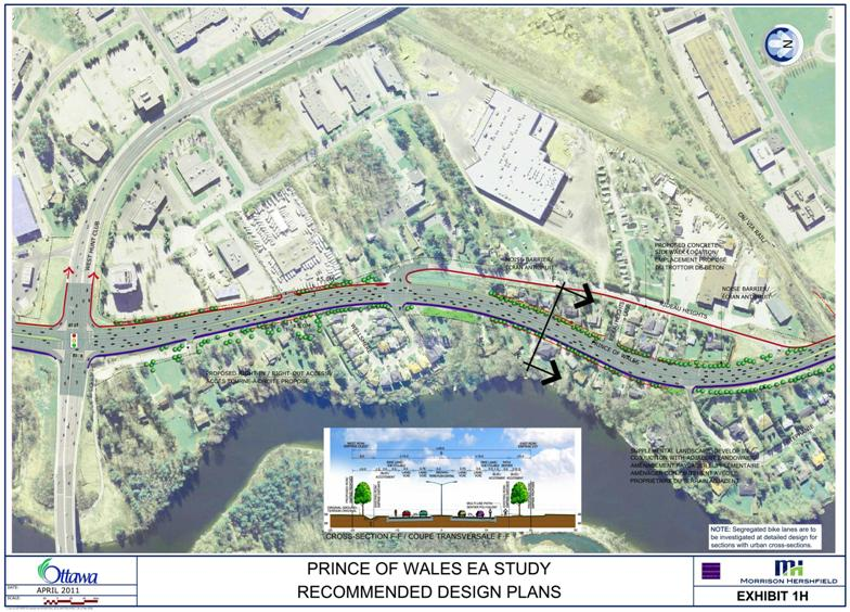 PRINCE OF WALES DRIVE ( FISHER AVENUE TO WOODROFFE AVENUE