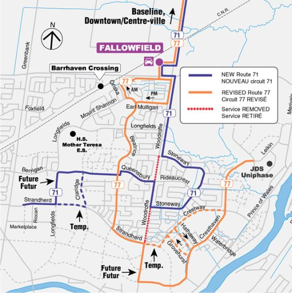 Exhibit 3 South Nepean Express Routes