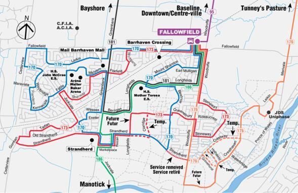 Exhibit 4 South Nepean Local Routes